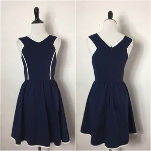Dresses & Skirts - Blue Fit and Flare Dress